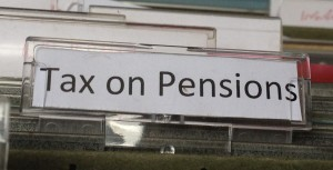 Tax on pensions