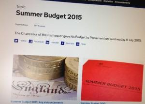 summer budget 2015